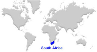 image: South Africa Map location