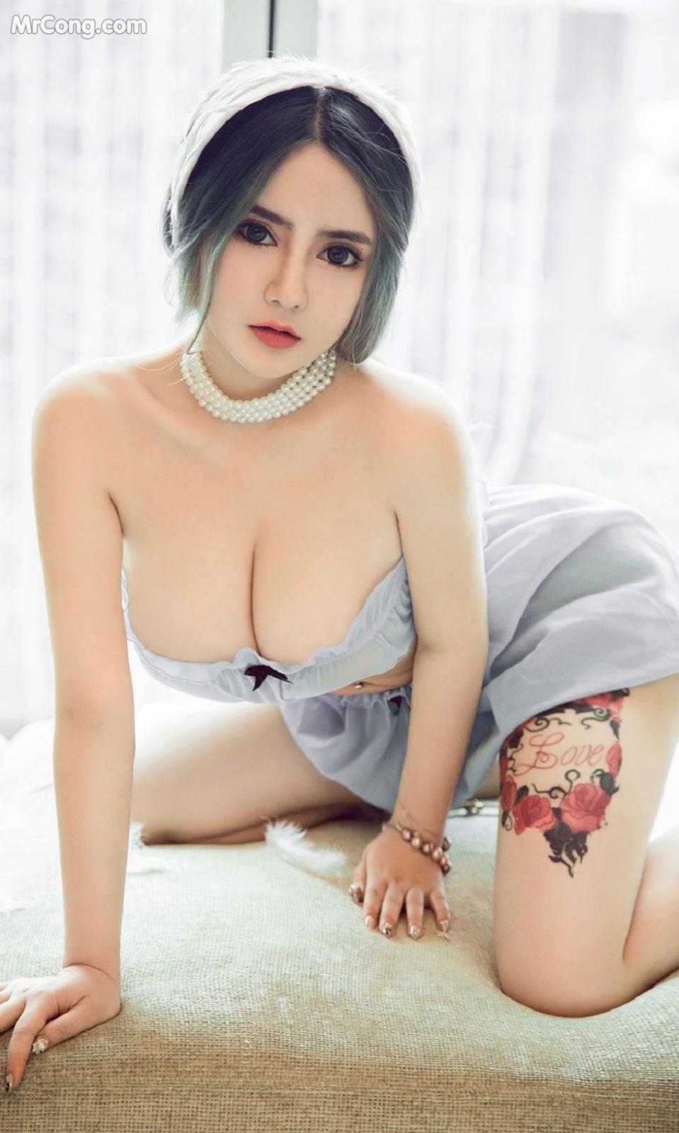 Image UGIRLS-Ai-You-Wu-App-No.1535-Wen-Xinyi-MrCong.com-008 in post UGIRLS – Ai You Wu App No.1535: Wen Xinyi (温心怡) (35 ảnh)