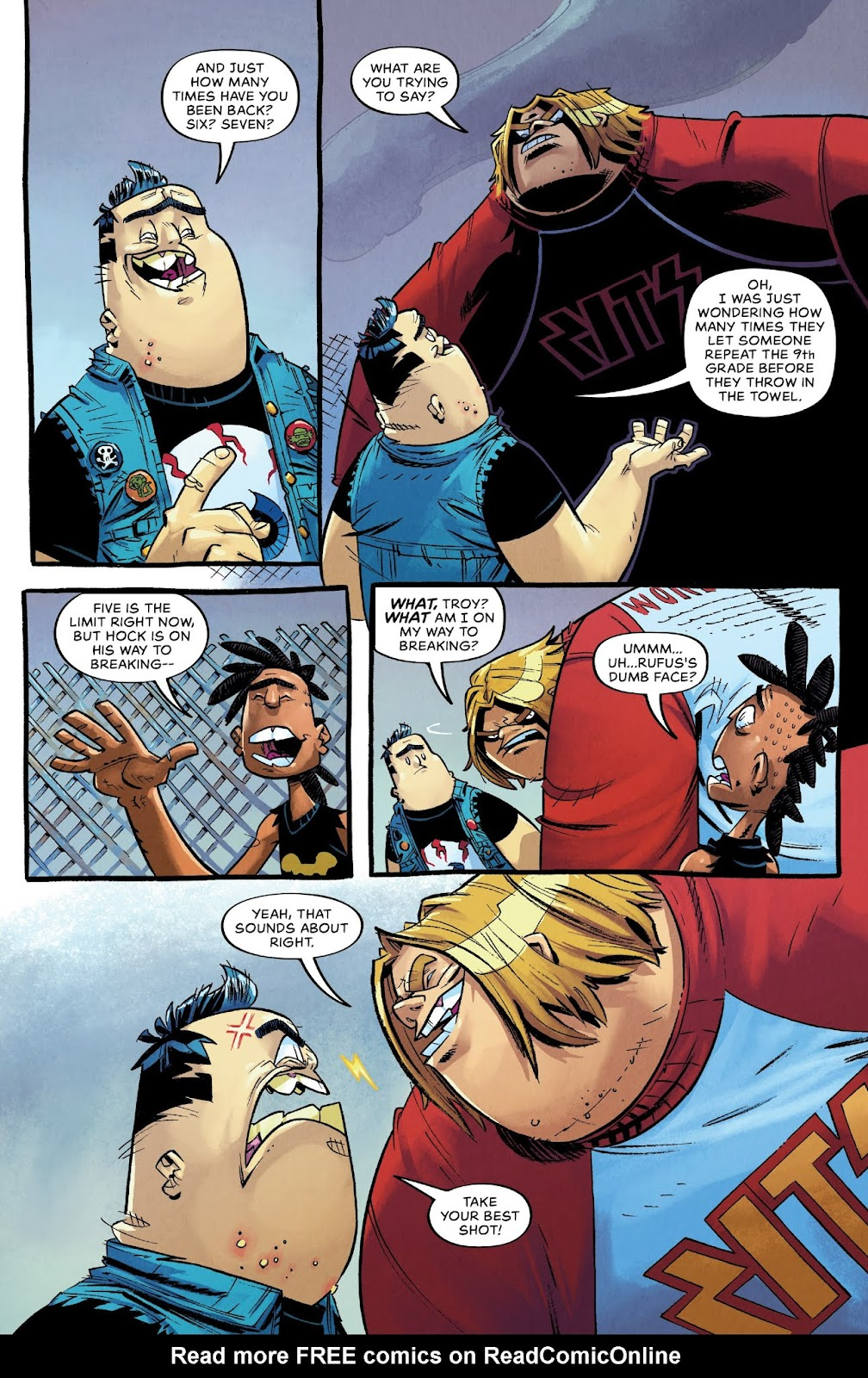 Read online Bully Wars comic -  Issue #3 - 14