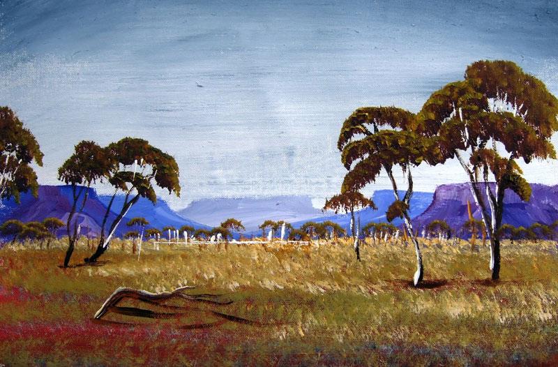 Len Hend ~ Pintor de paisagens