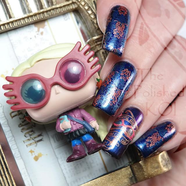 Luna Lovegood Nail Art