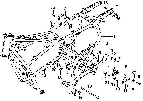 honda gl1000 engine internal diagram