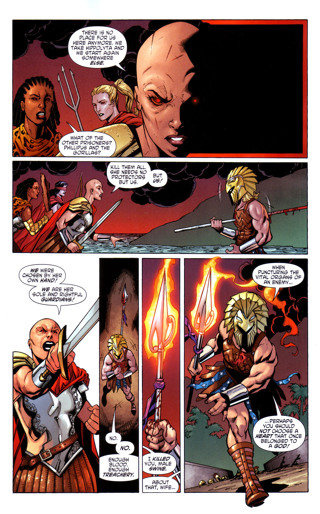 Read online Wonder Woman (2006) comic -  Issue #39 - 12
