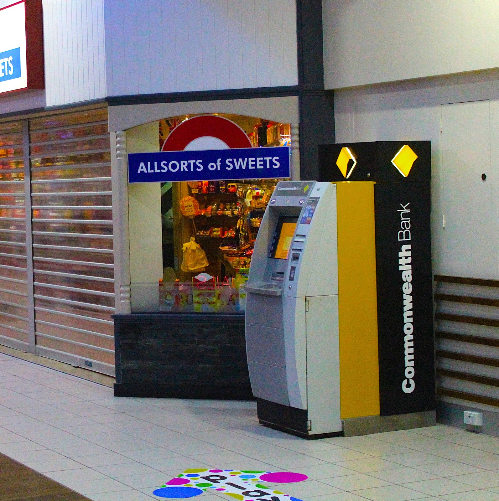 Commonwealth Bank ATM Machine
