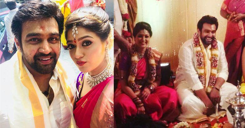 Kannada Actress Meghana Raj Engaged To Chiranjeevi Sarja   Indian Celebrity  Events