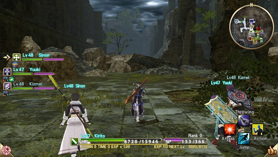 ChCse's blog: Sword Art Online: Hollow Realization (Vita)