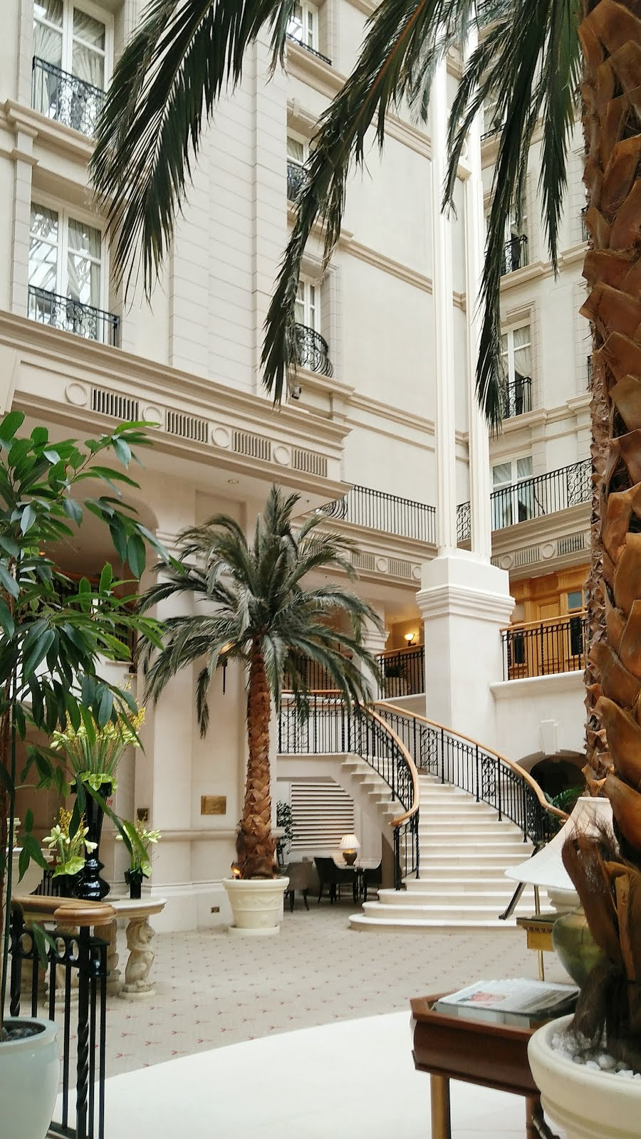 The Winter Garden at the Landmark Hotel, London