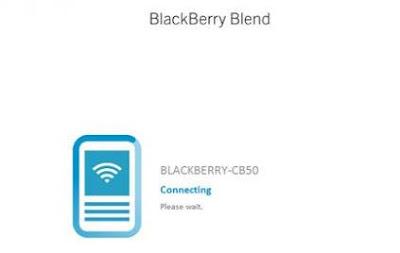 Cara Menggunakan BBM di PC Menggunakan Blackberry Blend Terbaru