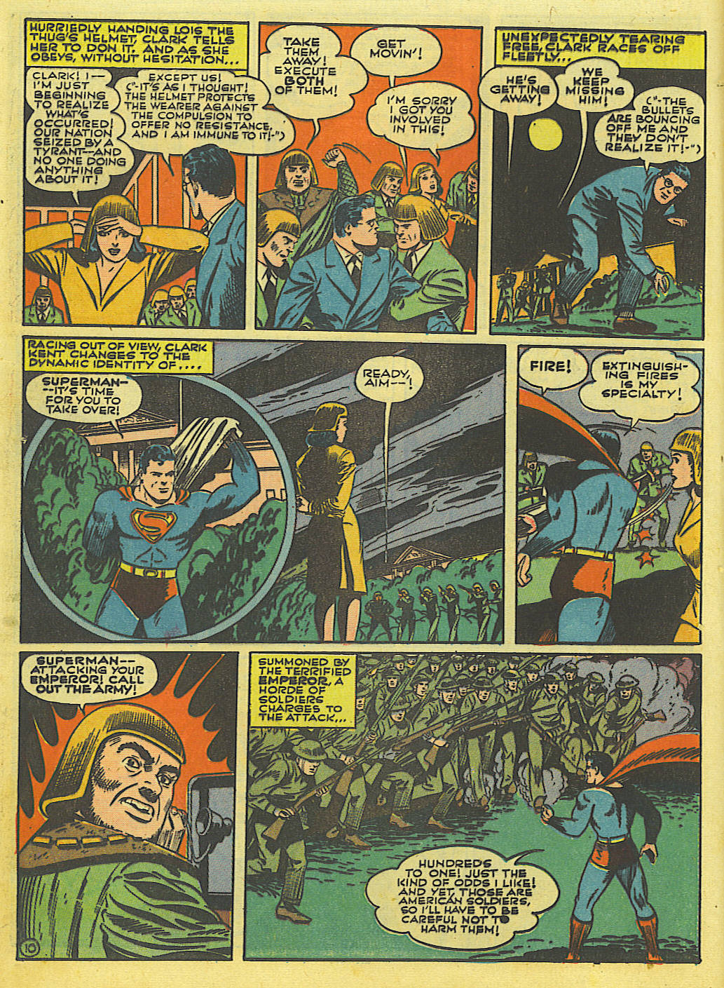 Read online Action Comics (1938) comic -  Issue #52 - 12