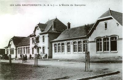 Ecole spéciale de garçons des Gautherets vers 1925 (collection musée)