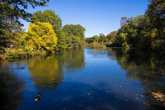 Back Bay Fens park-Boston