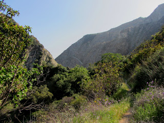Approaching the Vulcan quarry on Fish Canyon Trail