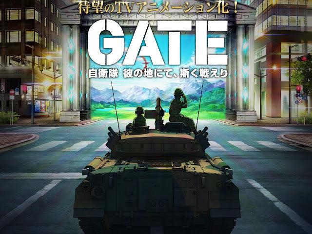 Gate: Jieitai Kanochi nite, Kaku Tatakaeri Anime