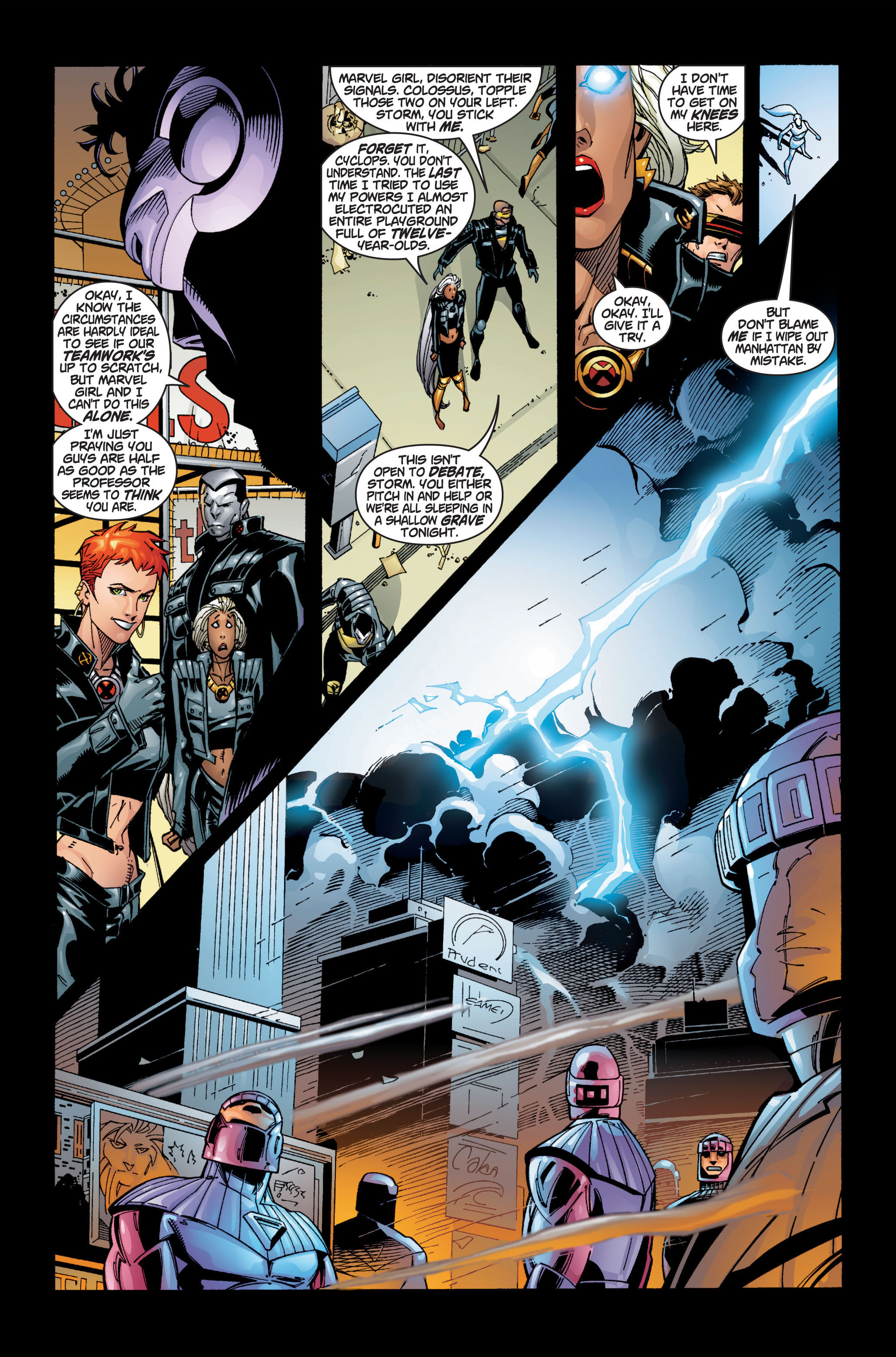 Read online Ultimate X-Men comic -  Issue #1 - 25