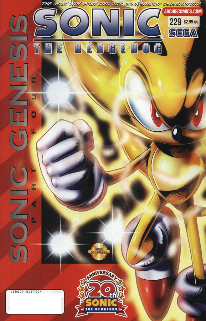 Read online Sonic The Hedgehog comic -  Issue #229 - 1