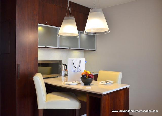 Centro Barsha kitchenette