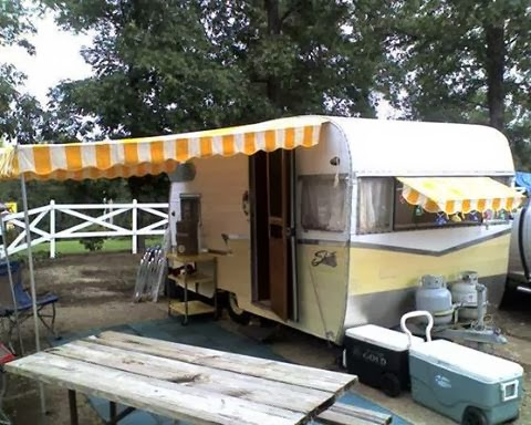 Vintage Awnings Images Of Vintage Trailer Awnings By