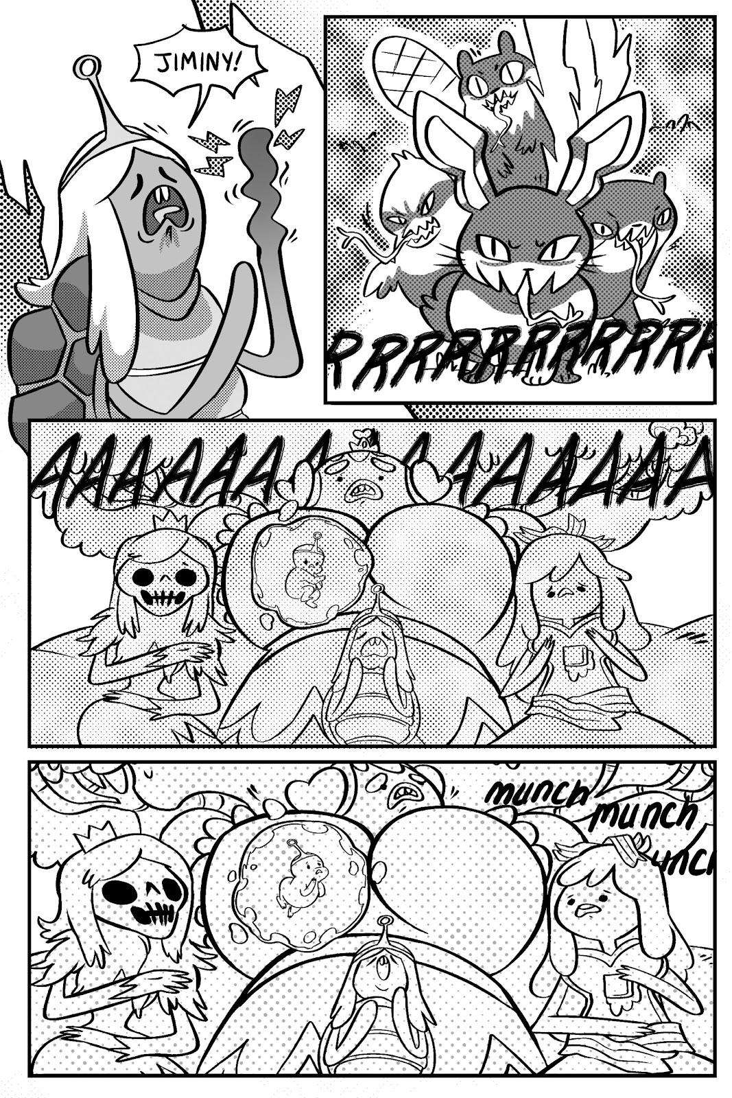 Read online Adventure Time: Pixel Princesses comic -  Issue # Full - 96