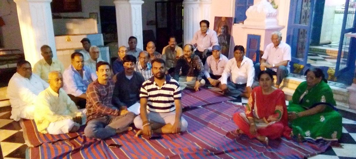 Jhabua News- सार्वजनिक गणेश मंडल की प्रथम बैठक का हुआ आयोजन