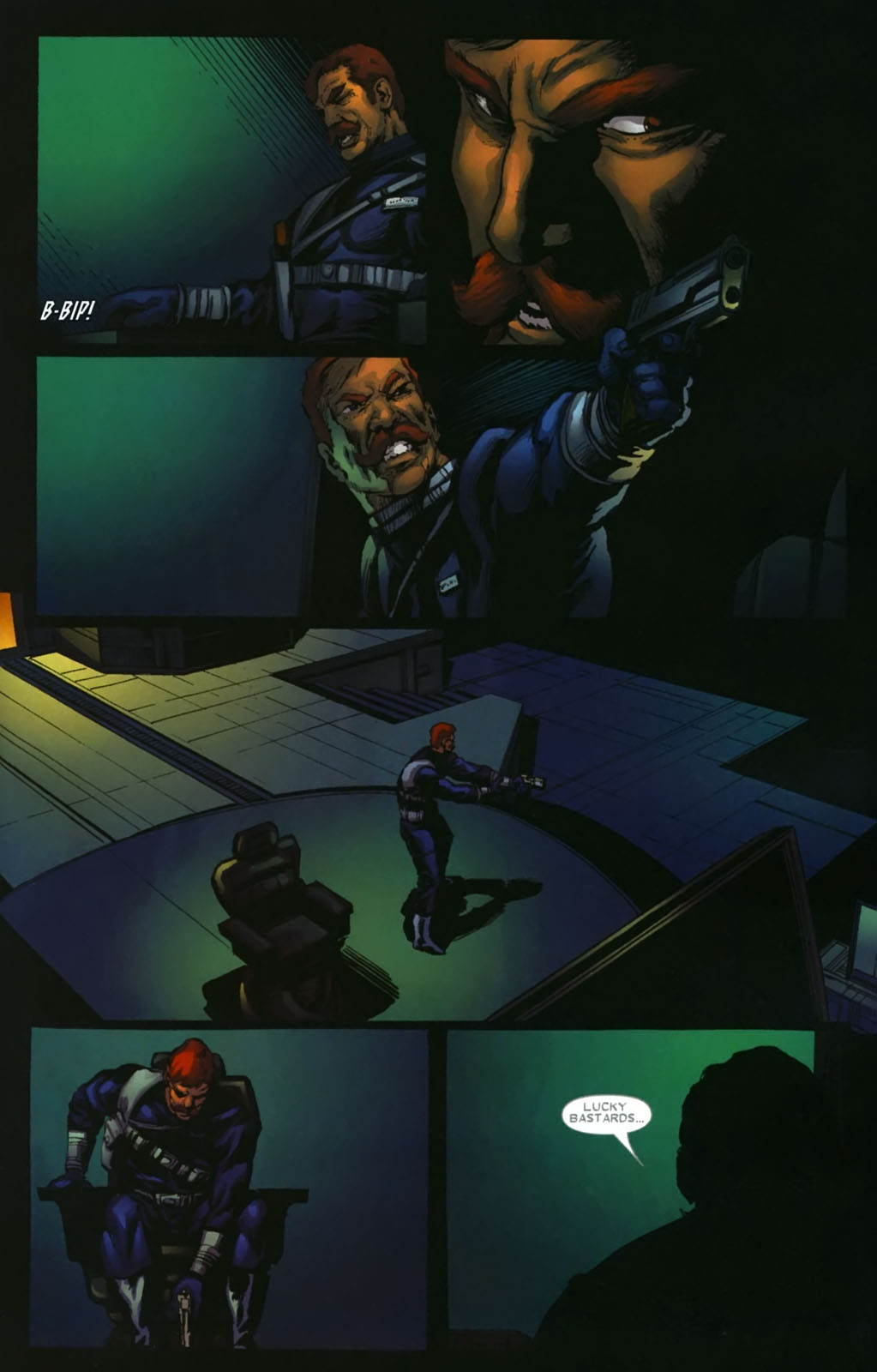 Read online Wolverine (2003) comic -  Issue #39 - 6