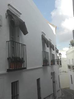 Balcón típico de vejer
