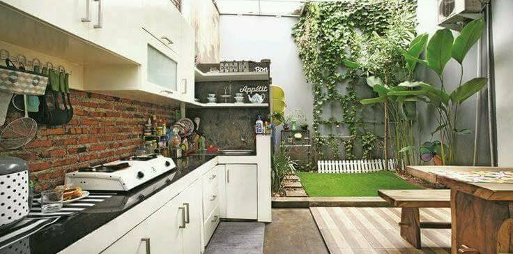 Dekorasi Desain Dapur Cantik Terbuka Terbaru