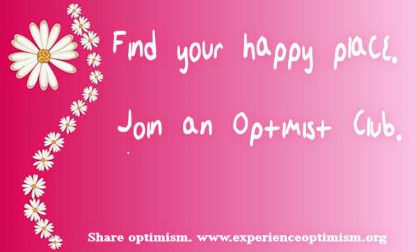 Join an Optimist Club experience optimism