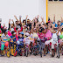 1º passeio ciclístico leva dezenas de crianças às ruas de Ponto Novo