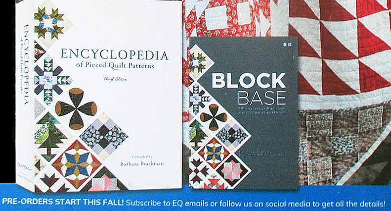 NEW EDITION ENCYCLOPEDIA PIECED PATTERNS & BLOCKBASE