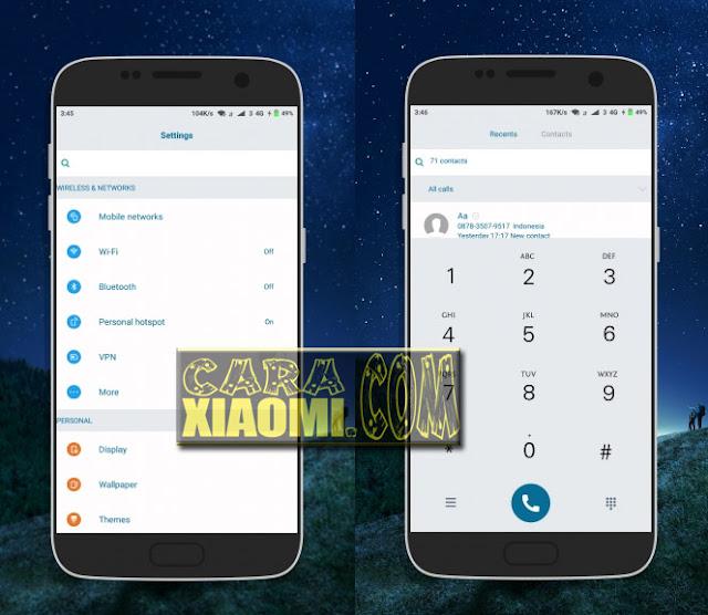 Download MIUI Theme [V8 Theme] Tema Samsung Abal Abal Mtz Xiaomi