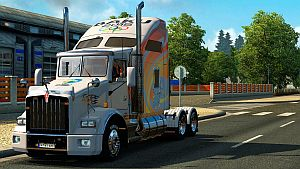 ''Baku 2015'' skin and trailer for Kenworth T800