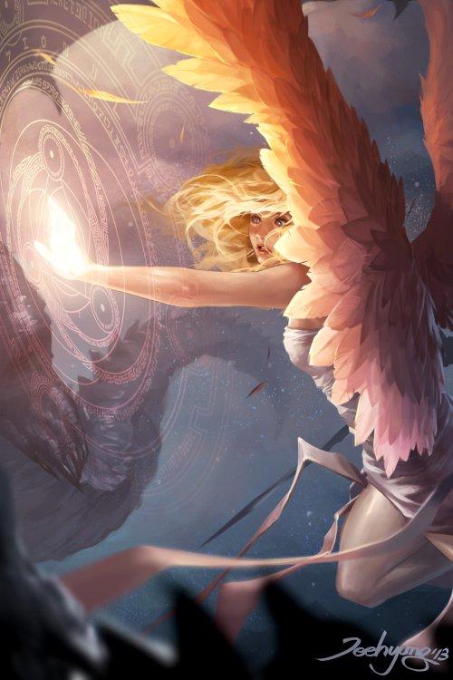 Lee JeeHyung artstation ilustrações fantasia games quadrinhos marvel filmes