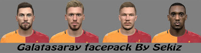 Galatasaray face pack