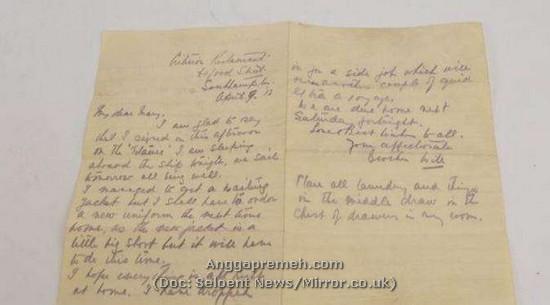 Surat terakhir William Barrows