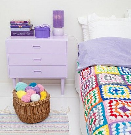 Lilac Bedrooms With Nice Colors 1