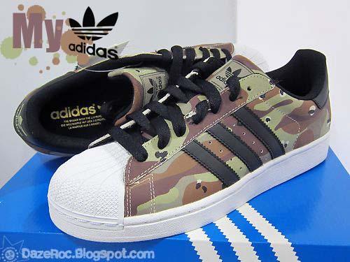 7417b6811764e Hip Hop, Life, & My Adidas...: Camo Shell Toes - Adidas Classics