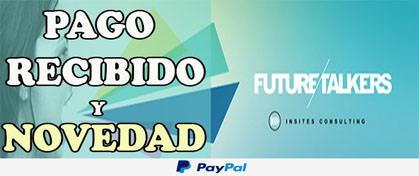 Future Talkers Pago Recibido Paypal
