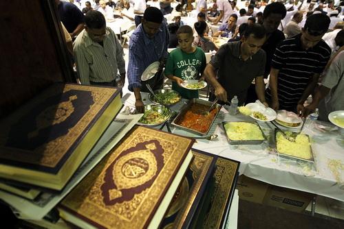 Gambar Suasana Ramadan di Amerika Syarikat