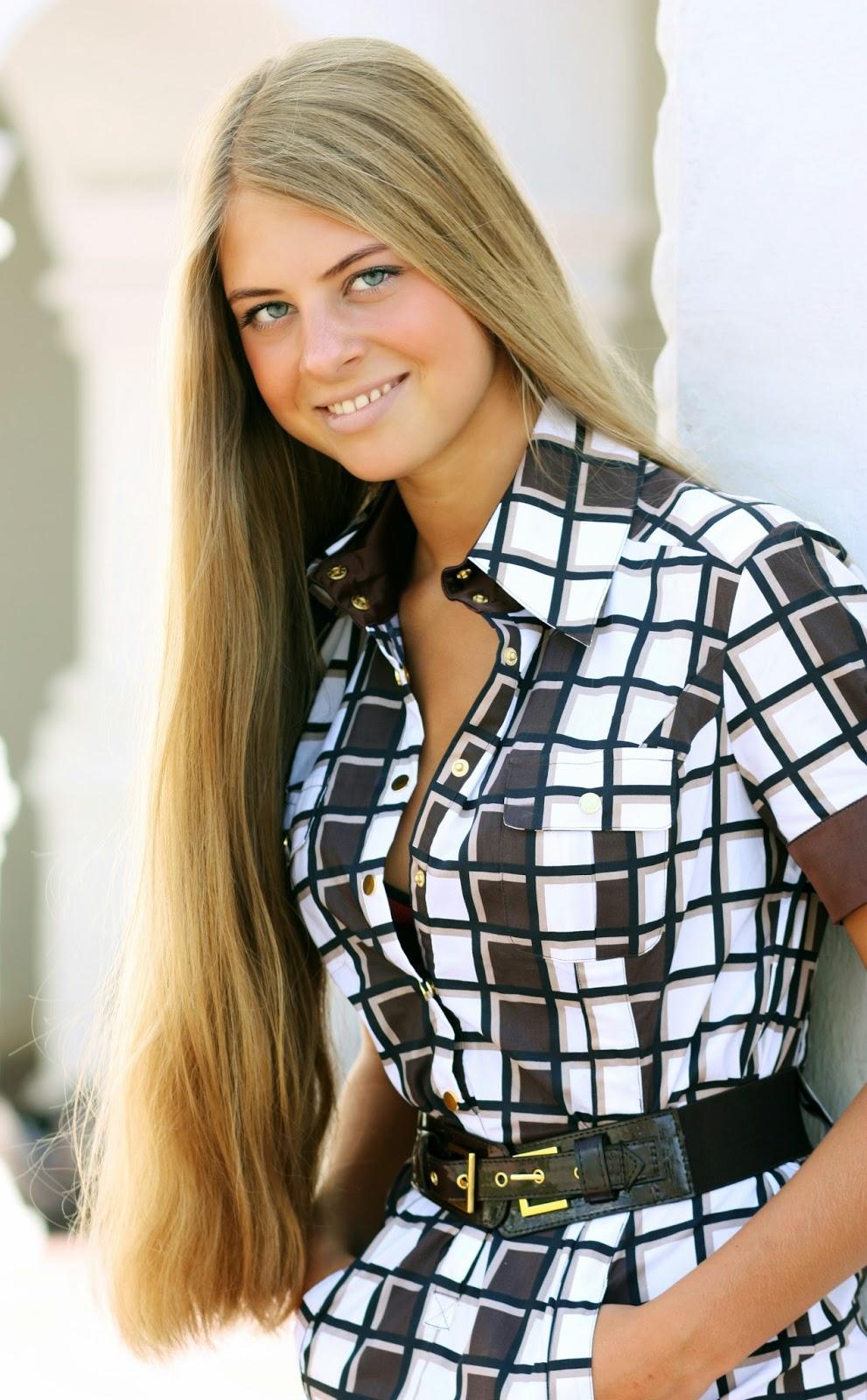Long Haired Women Hall of Fame: Evgenia Valueva #4