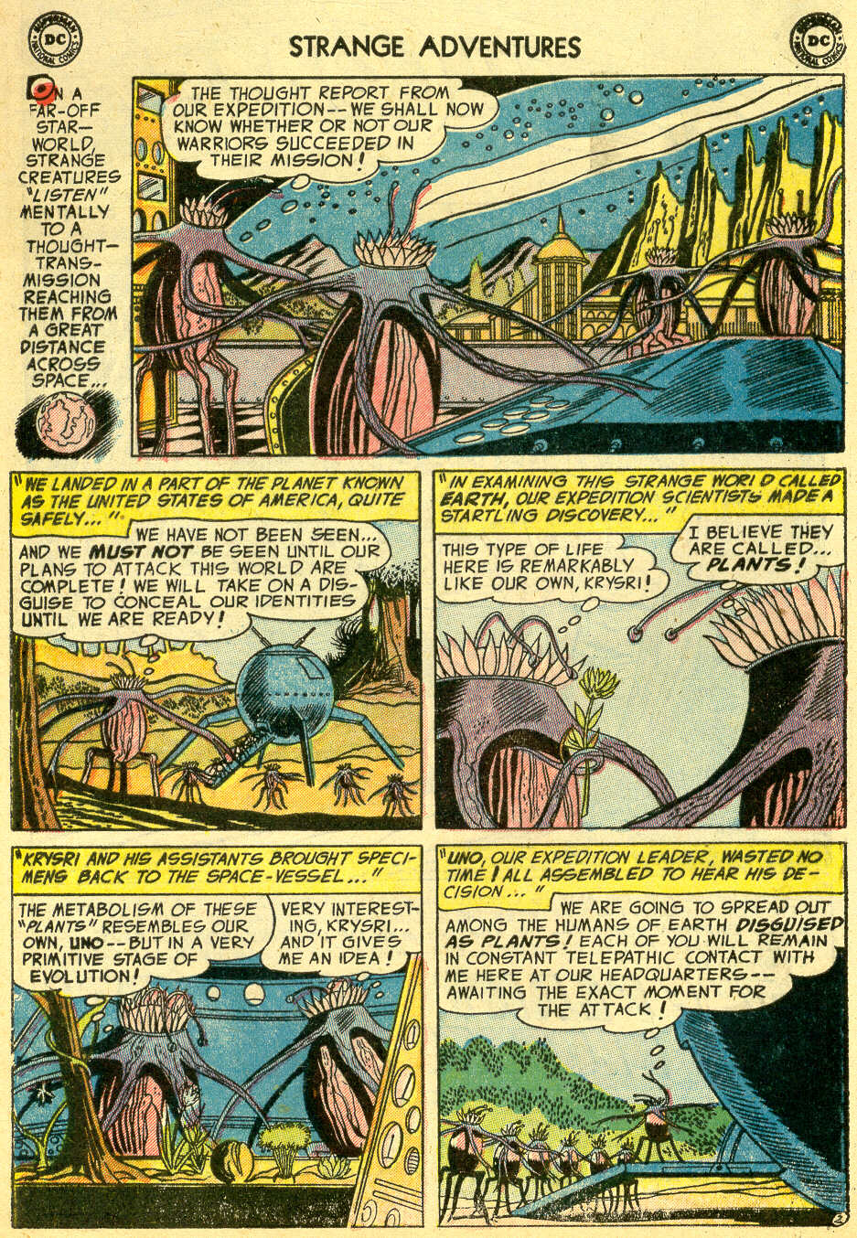 Strange Adventures (1950) issue 44 - Page 4