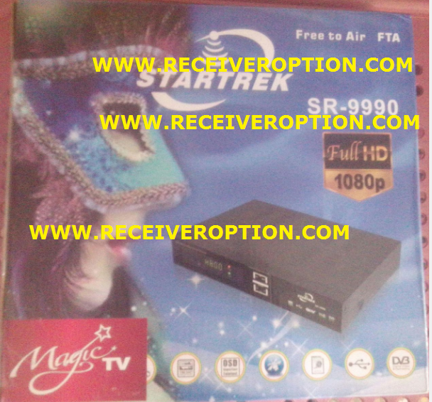 STARTREK SR-9990 HD RECEIVER 8MB POWERVU KEY NEW SOFTWARE