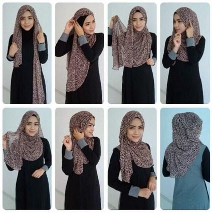 Sempurnakan Akhlakmu dengan Tutorial Hijab Modern Yang ...