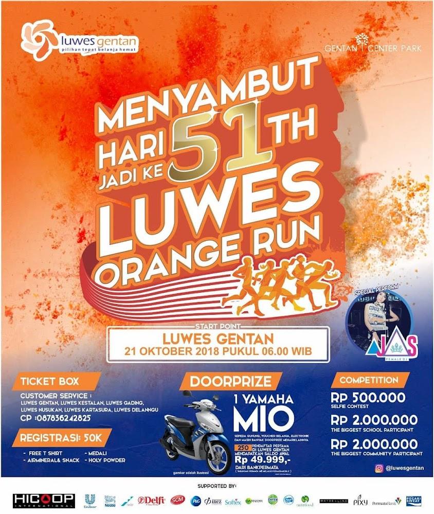 Luwes Orange Run • 2018