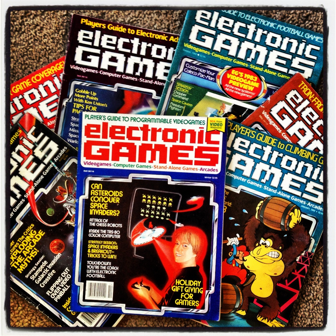 Neato Coolville: SCI-FI ART FROM ELECTRONIC GAMES MAGAZINE