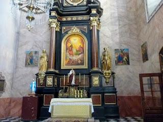 Жолква. Костёл святого Лаврентия