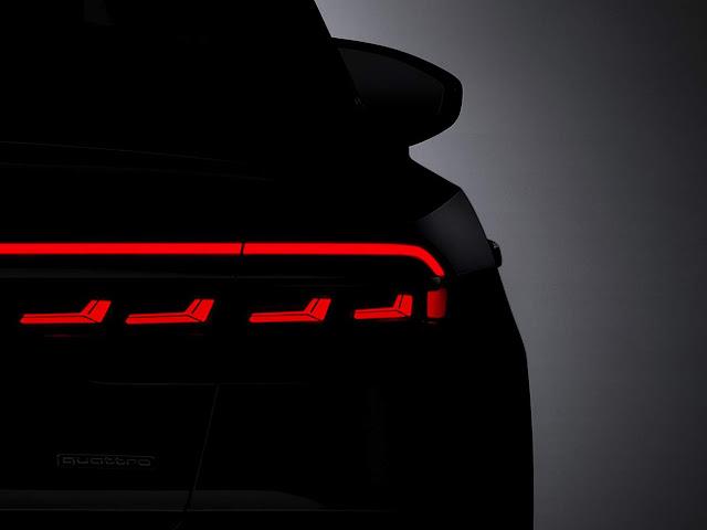 Novo Audi A8 2018 - lanterna