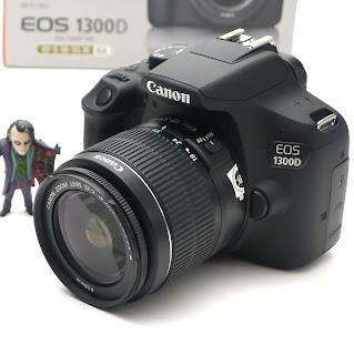 Kamera Canon EOS 1300D ( Wi-FI+NFC ) Fullset