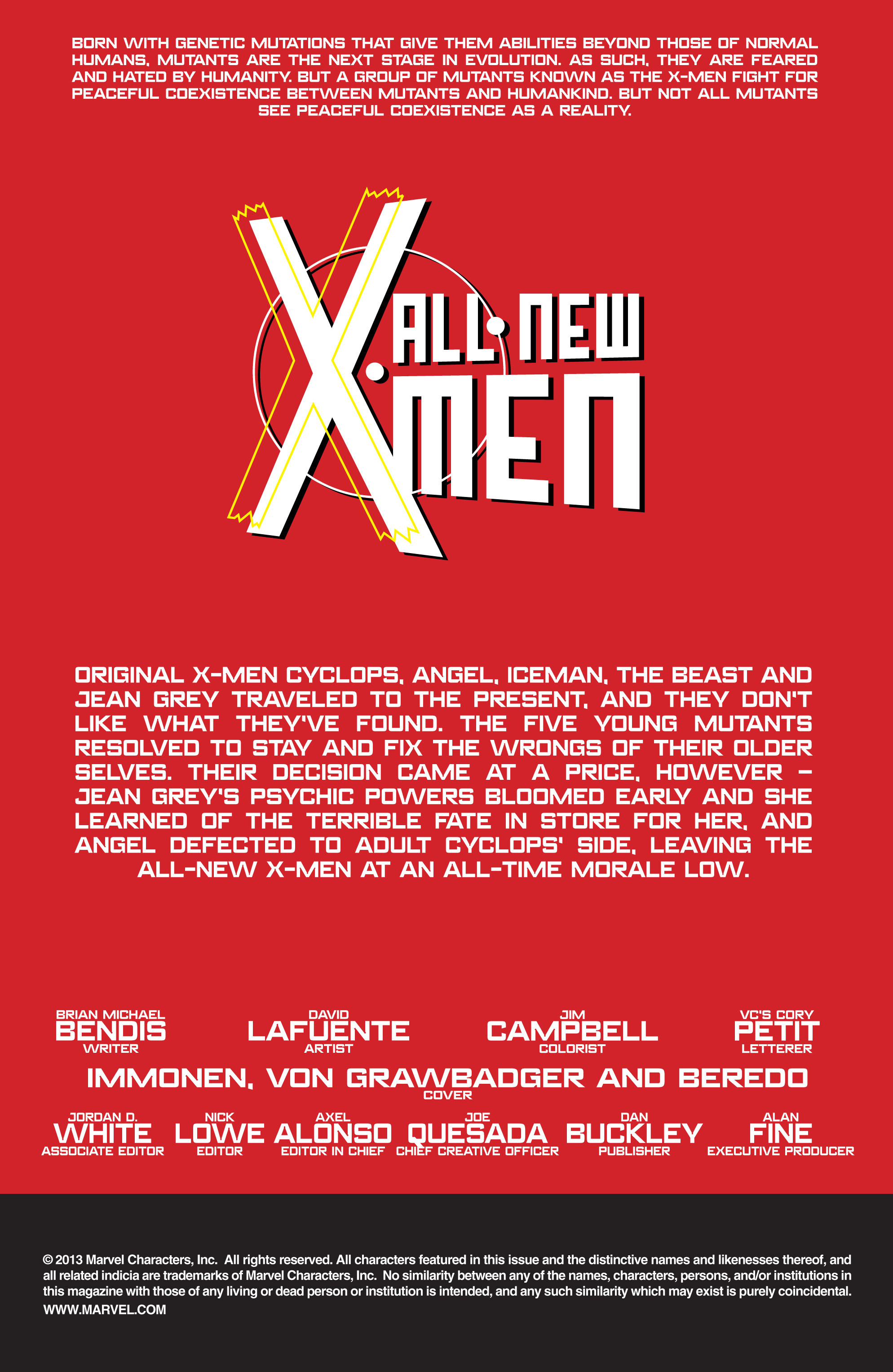 Read online All-New X-Men (2013) comic -  Issue # _Special - Out Of Their Depth - 90