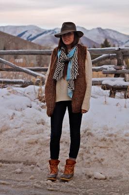 Botas de mujer cafe para invierno