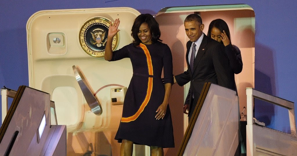 The edge flotus with the first family on style voyage to argentina